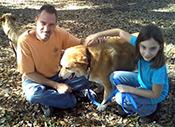 elizabthe & brooke with dogs martha & winn dixie