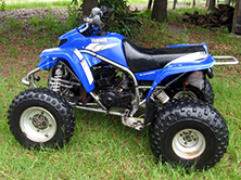 elizabeth's ATV
