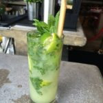 tall cool frosty sugarcane beverage