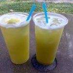 two cold sugarcane based beverages